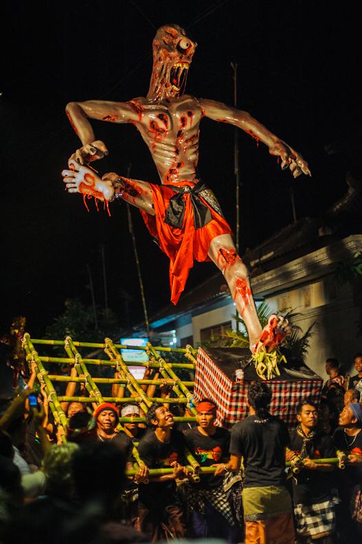 Nyepi parade