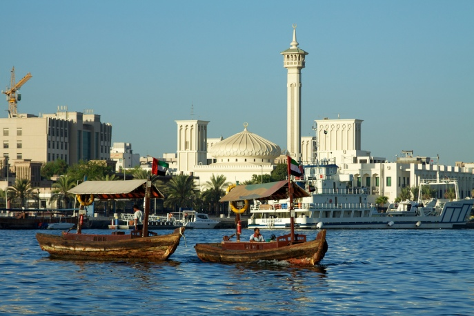 Early morning on Dubai Creek #2