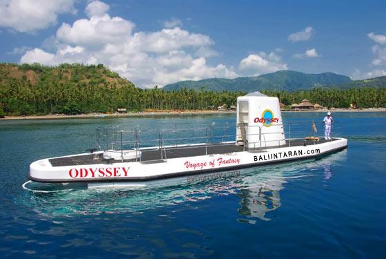 Submarine Dive in Bali