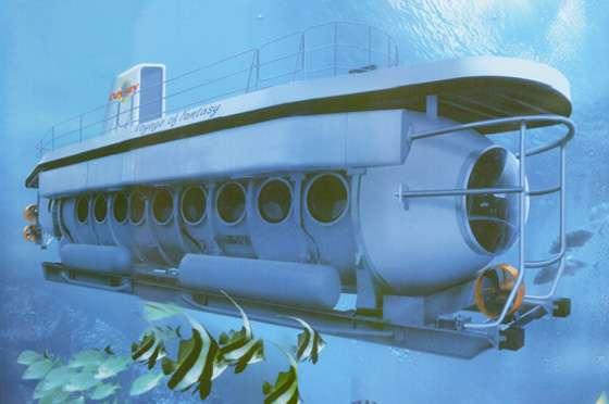 Submarine Dive in Bali1