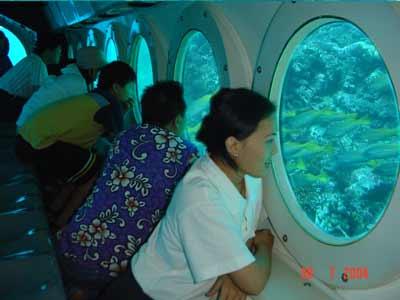 Submarine Dive in Bali2