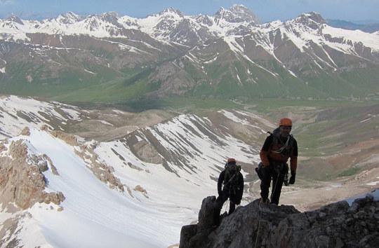 Parmir-Alai mountains