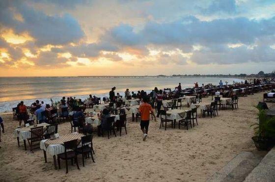 Bali beach party 2013
